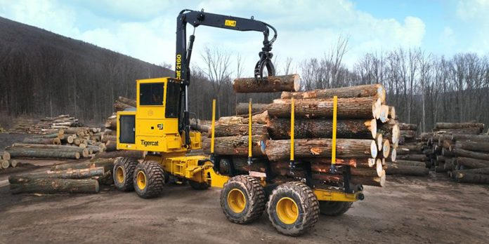 tigercat 2160 forwarder