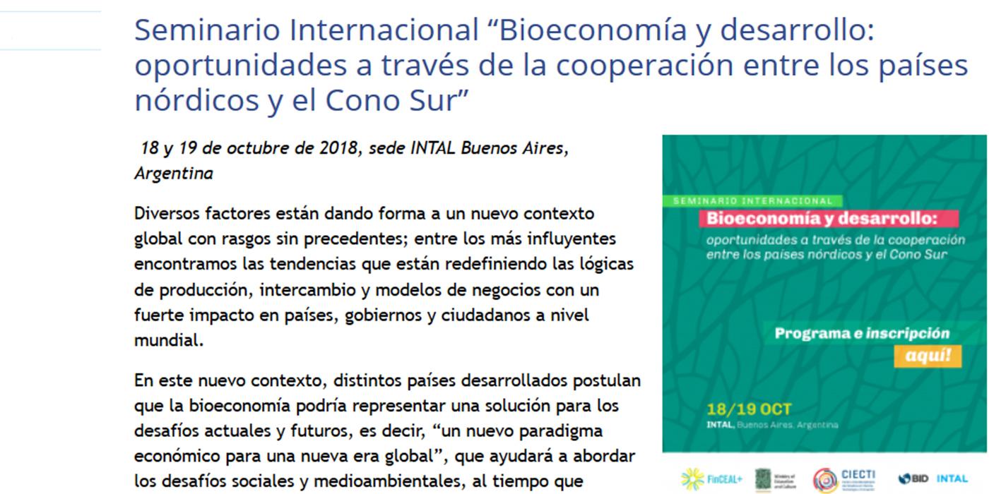 bioeconomia forestal seminario