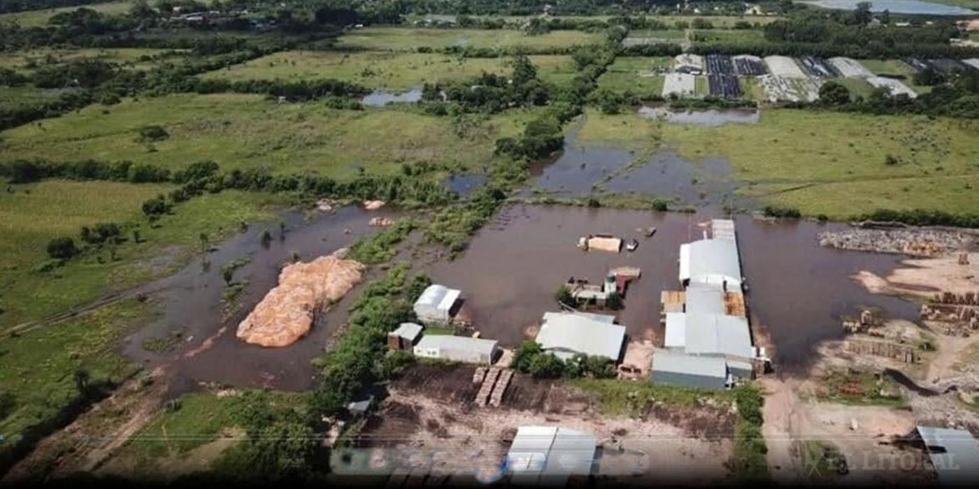 santa rosa corrientes inundaciones