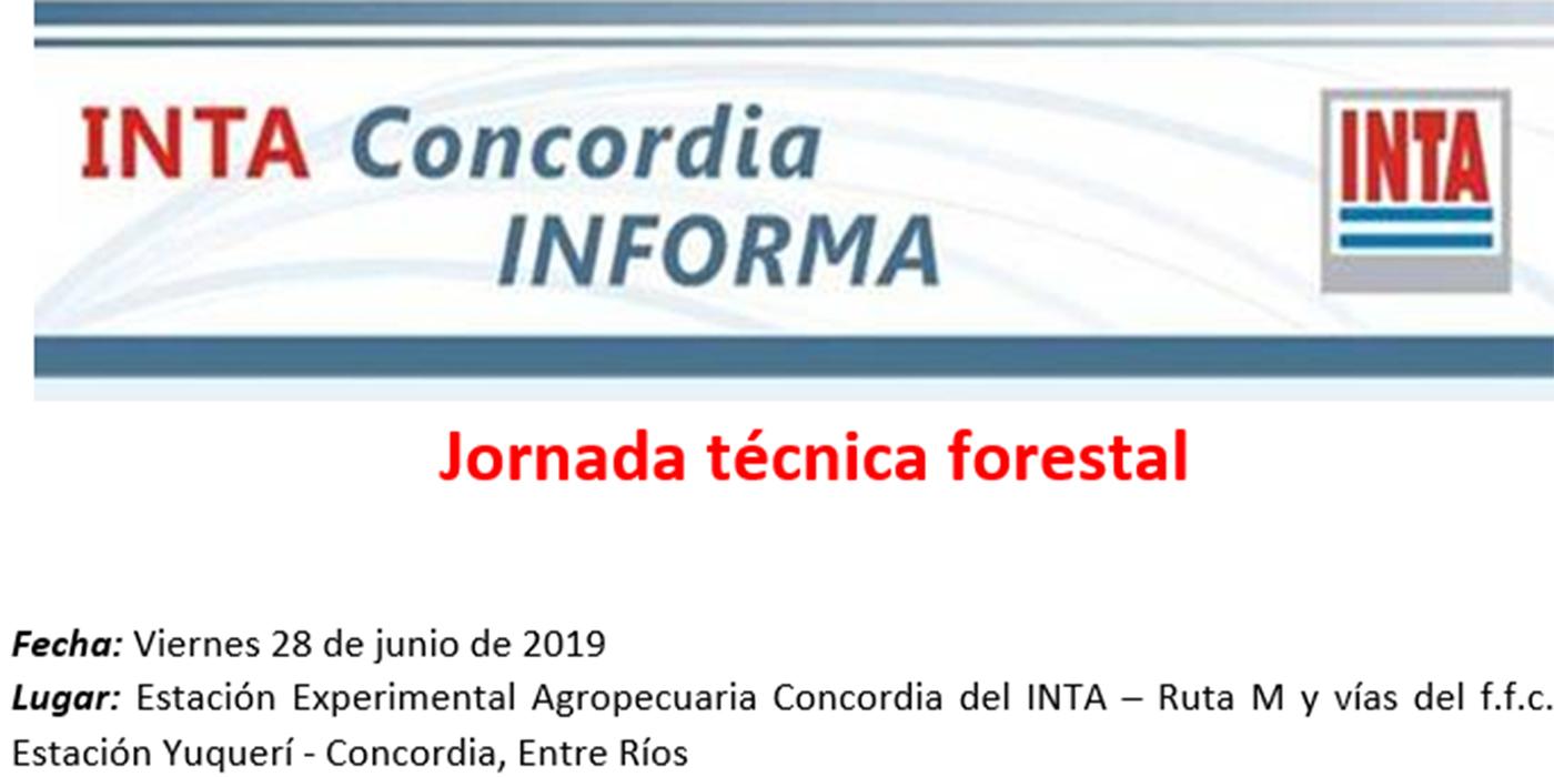 inta concordia jornada forestal 28 de junio