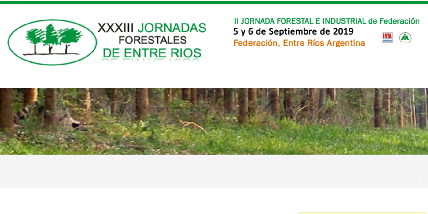 jornadas forestales de entre rios 2019