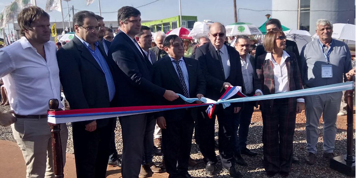 inauguracion feria forestal argentina 2019