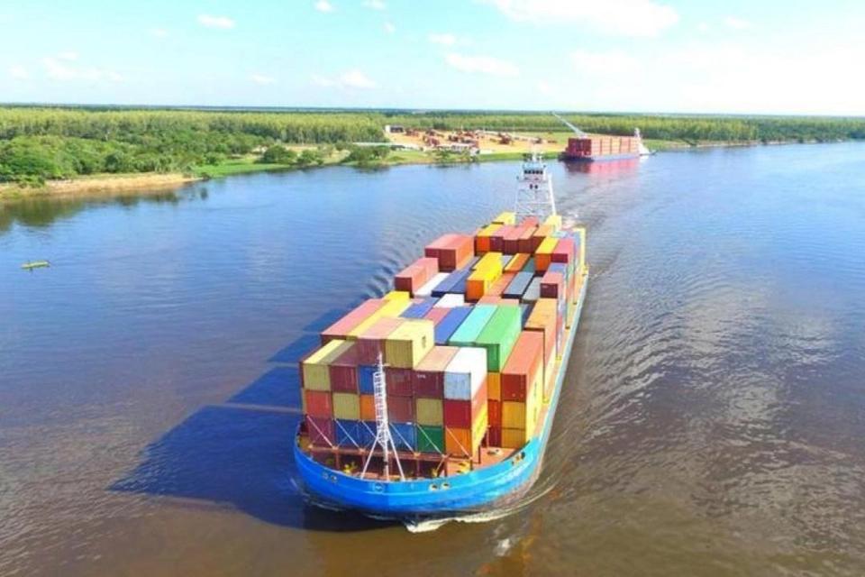 Corrientes obras puerto Ituzaingó