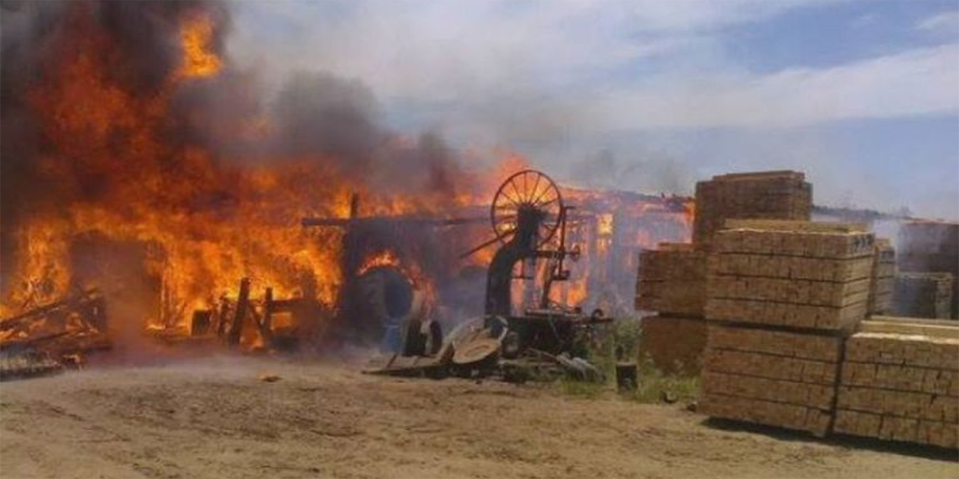 incendios daños aserraderos corrientes