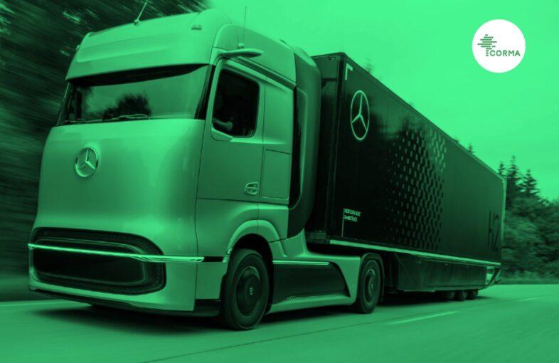 Hidrógeno verde transporte forestal