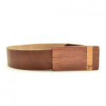 Cinturon en madera Palo Santo Argentina