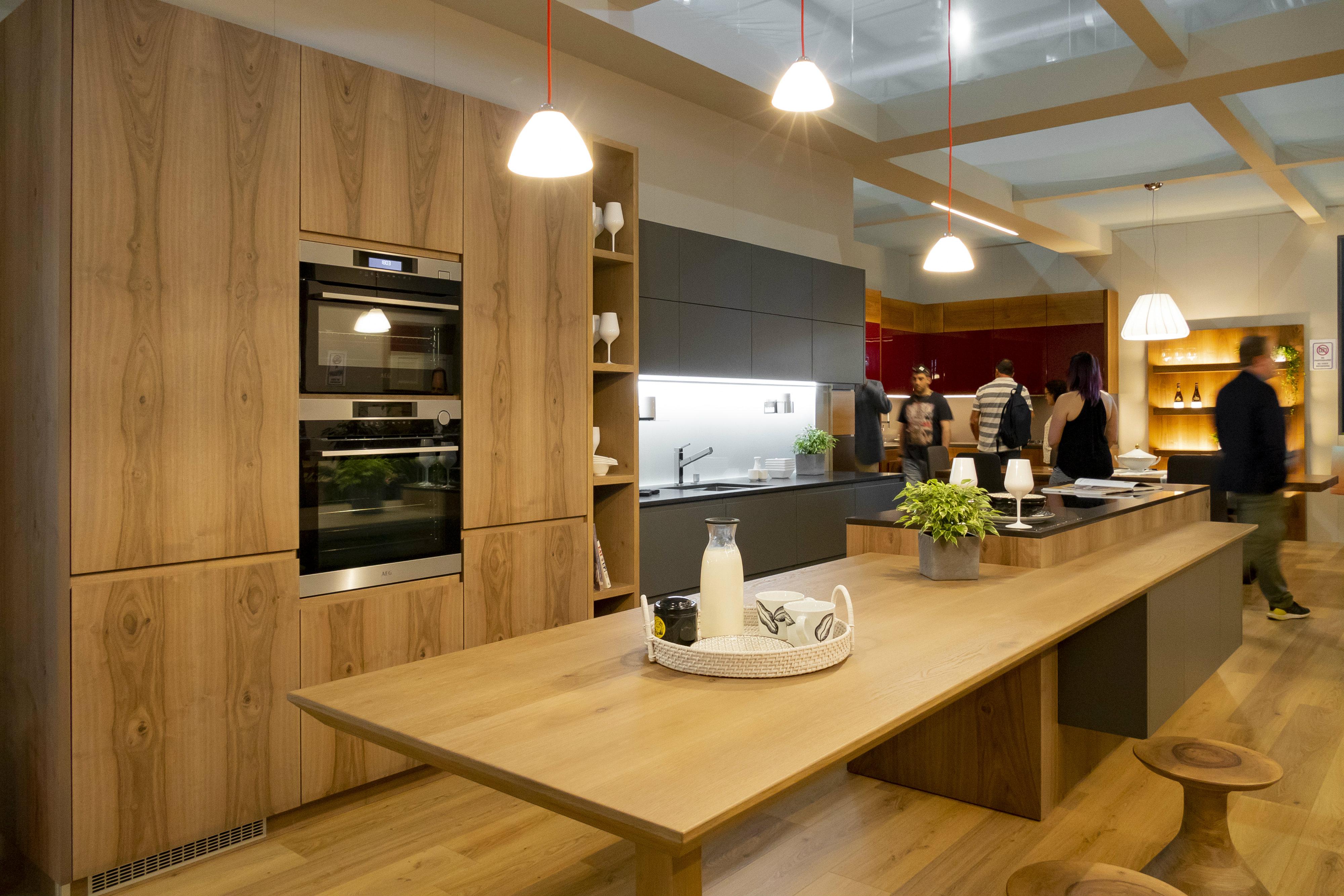 Tendencias feria del mueble mil n 2018 insp rate con d f - Muebles de cocina madera ...