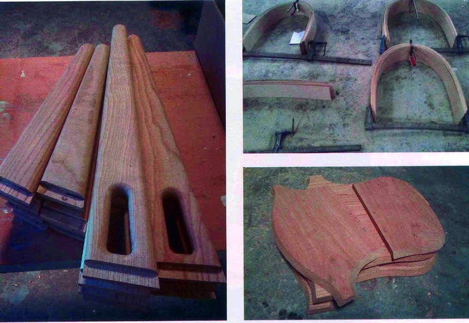 Silla Muros madera de castaño