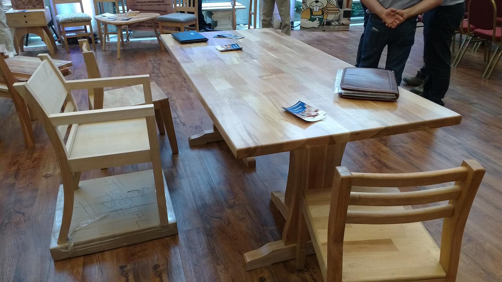 Comercio exterior de muebles