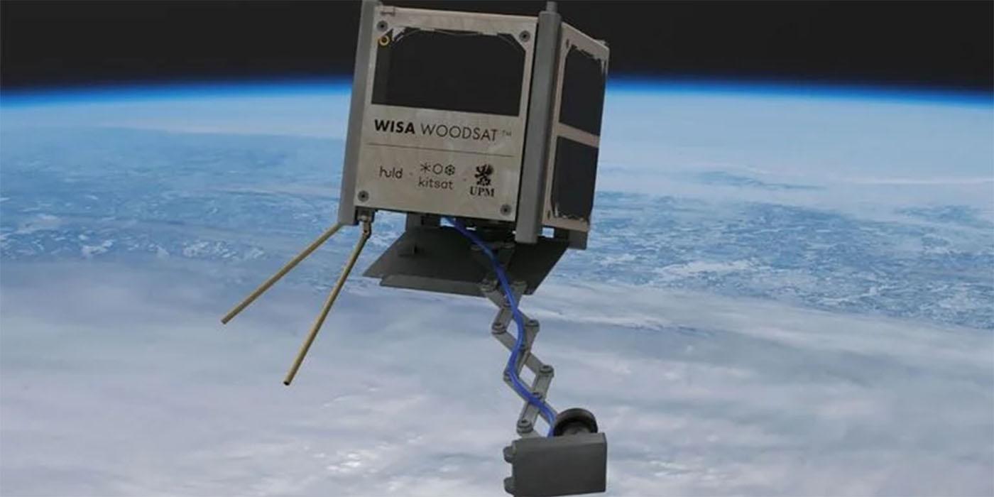 finlandia lanzará satélite madera