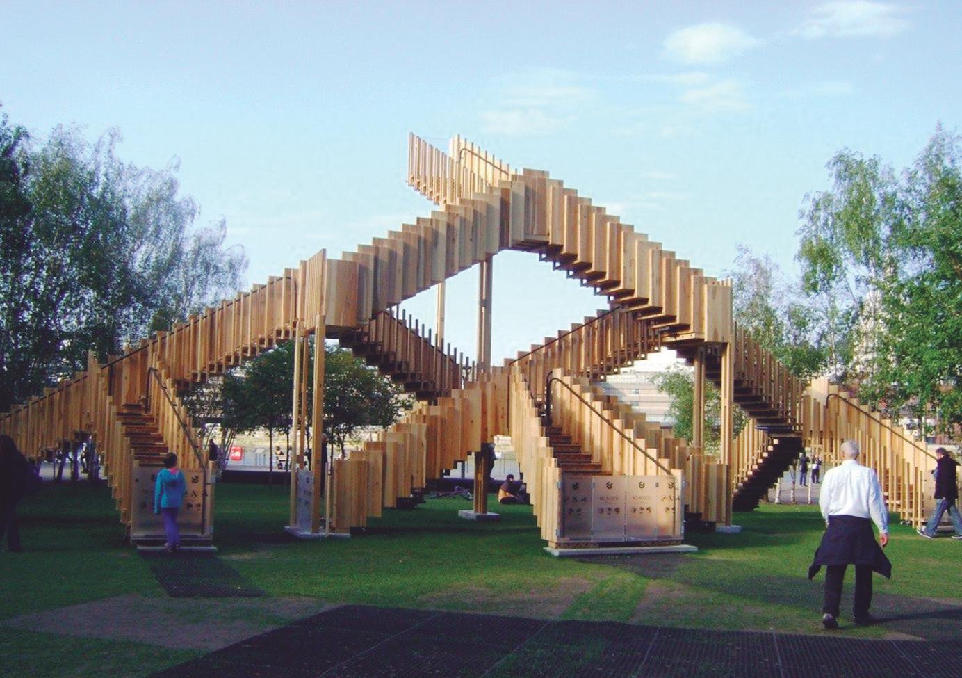 escalera infinita museo tate