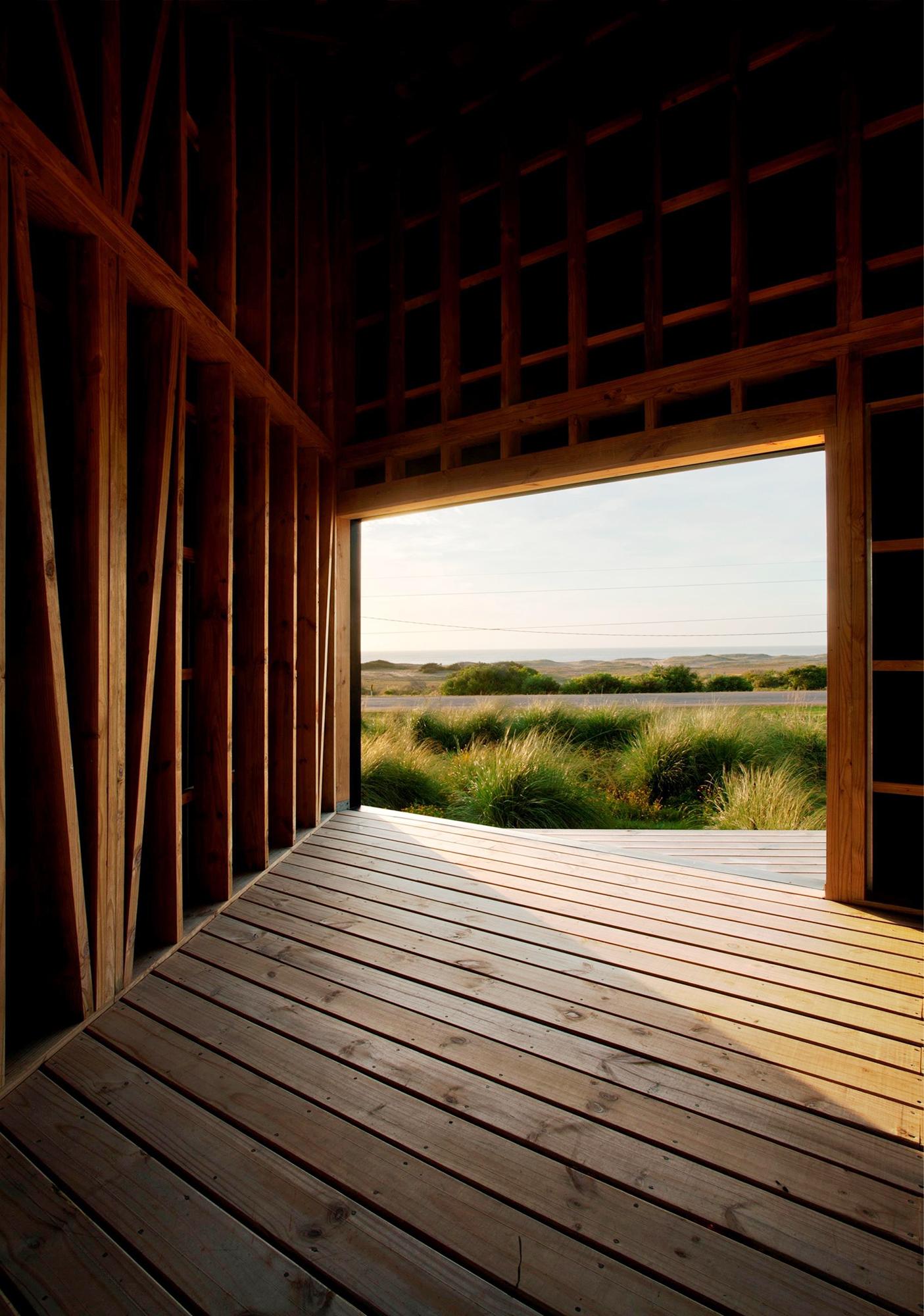 vivienda madera manantiales