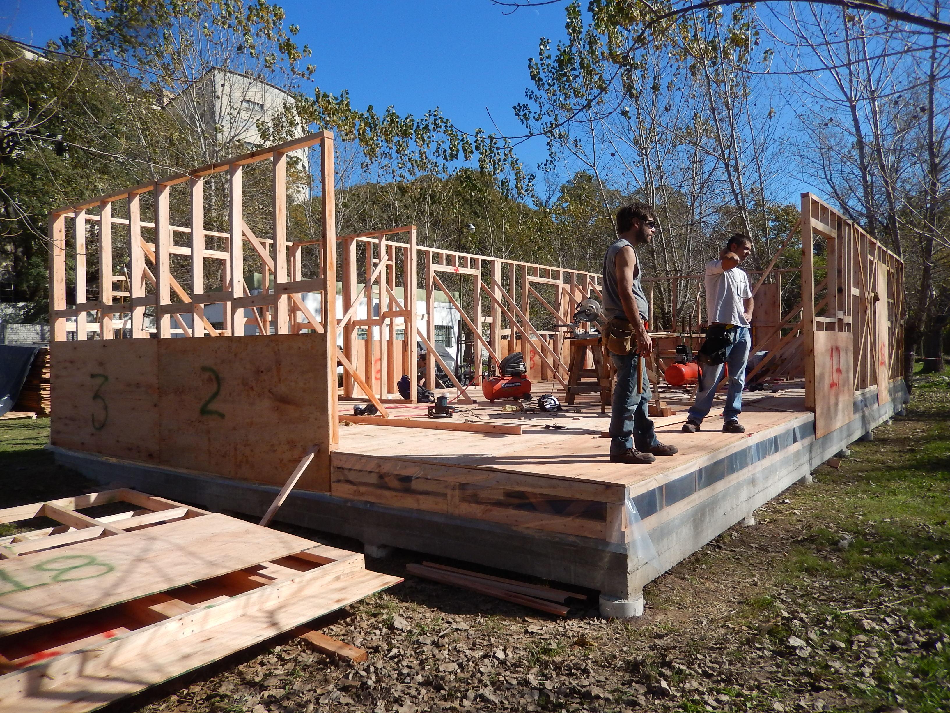 casa aula madera