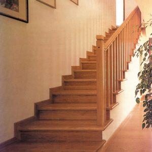 Escaleroa de madera