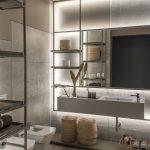 Casa Foa 2017 baño piso madera