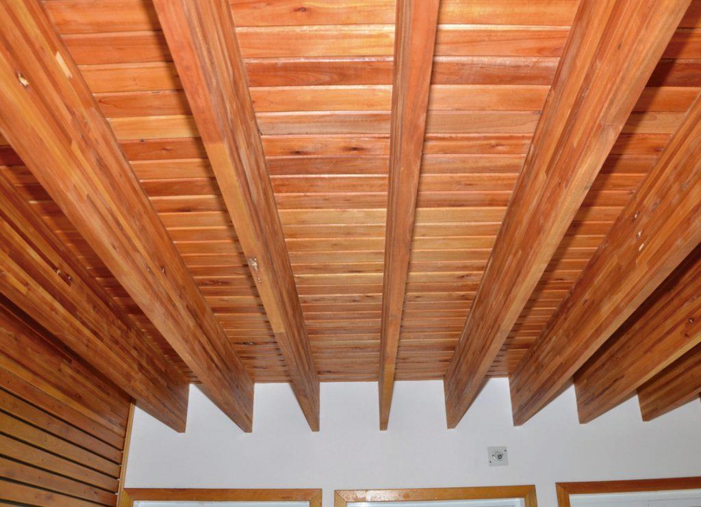 vivienda de madera-imfer-techo
