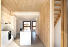 construccion edificio madera