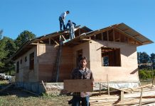 madera aserrada uso construcción