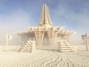 templo Burning Man 2017