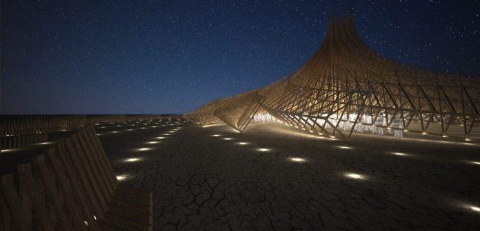 templo Burning Man 2018
