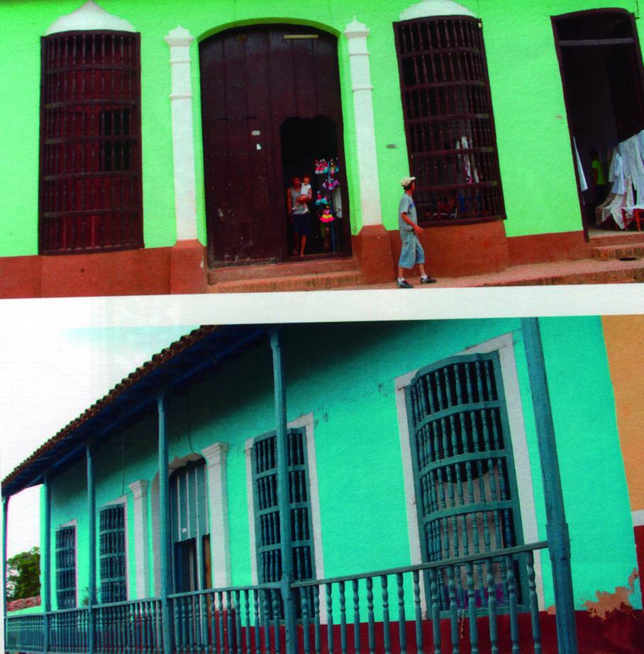 Cuba Rejas de madera