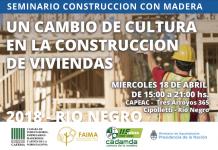 seminario sobre construcción en madera