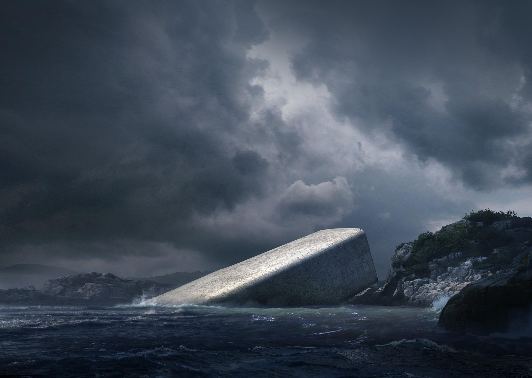restaurante submarino under