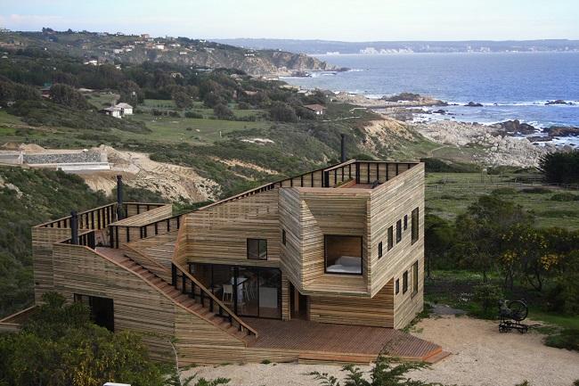 casas madera chile