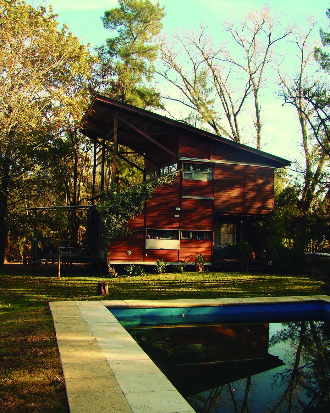 casa santos vivienda eucalipto