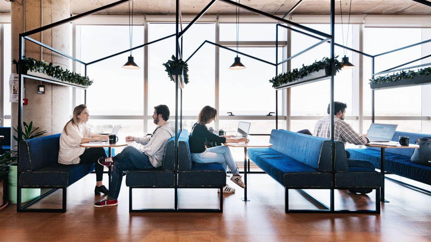 diseño proyección espacios trabajo