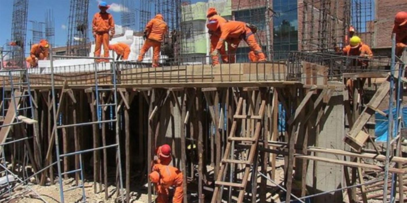 modalidad trabajo construcción pandemia