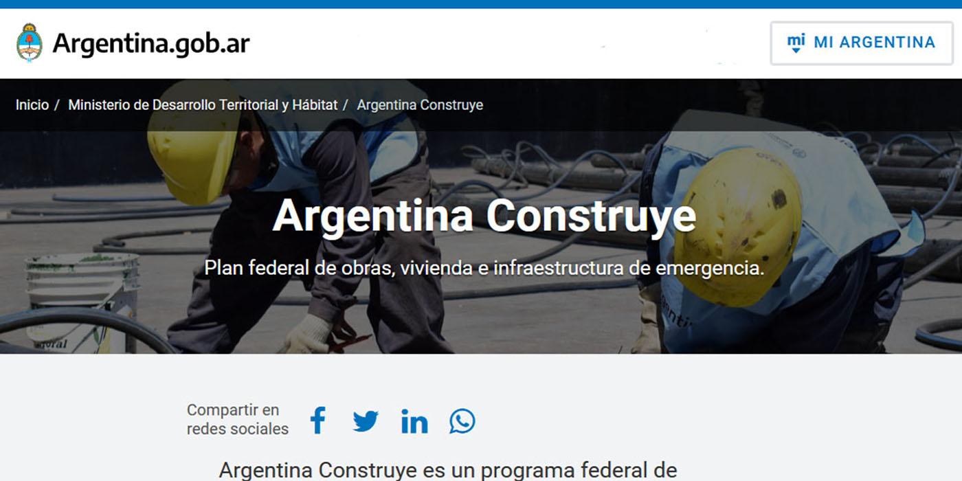 argentina construye 5.500 viviendas