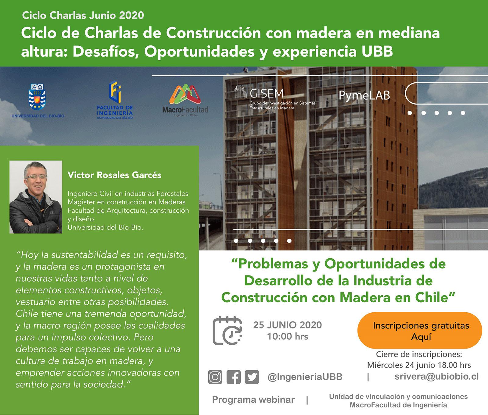 Construcción en madera Chile