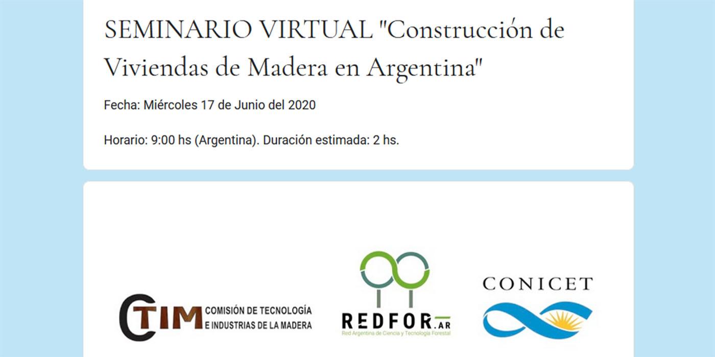 seminario virtual viviendas madera