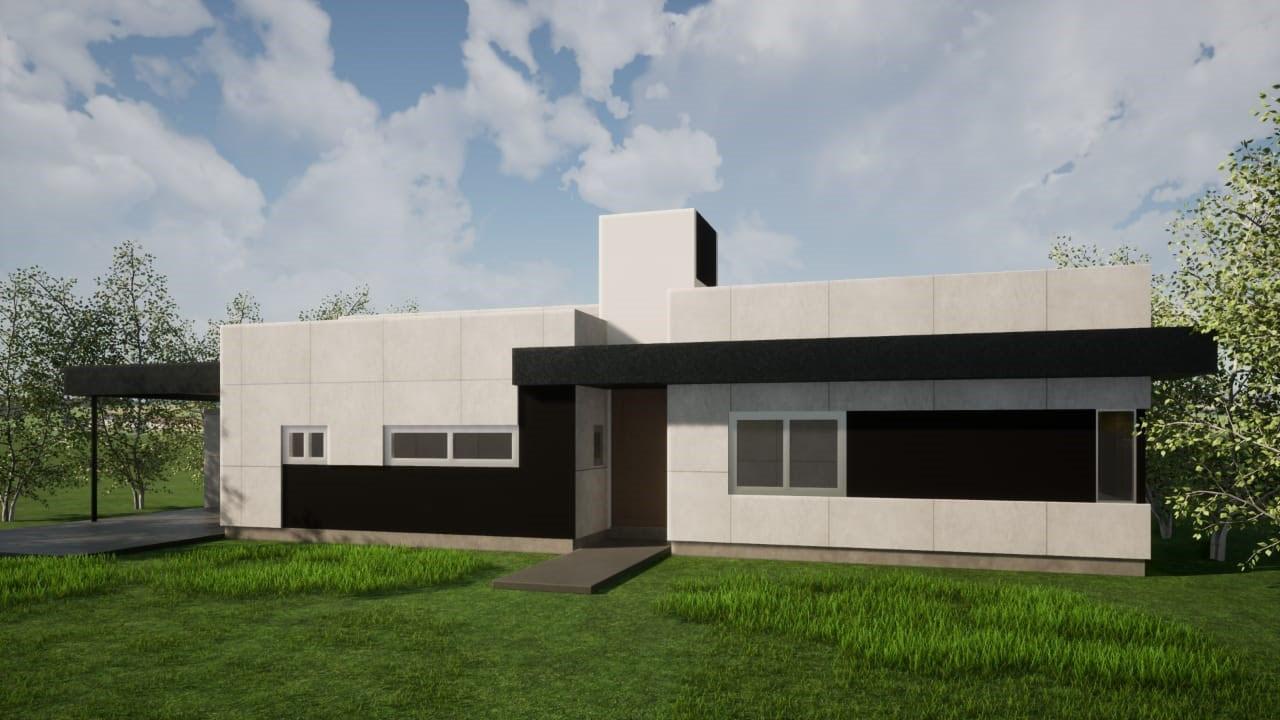 Casa sustentable paneles SIP