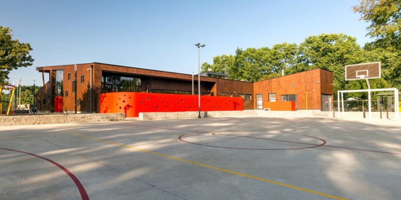 escuelas madera chile estrés