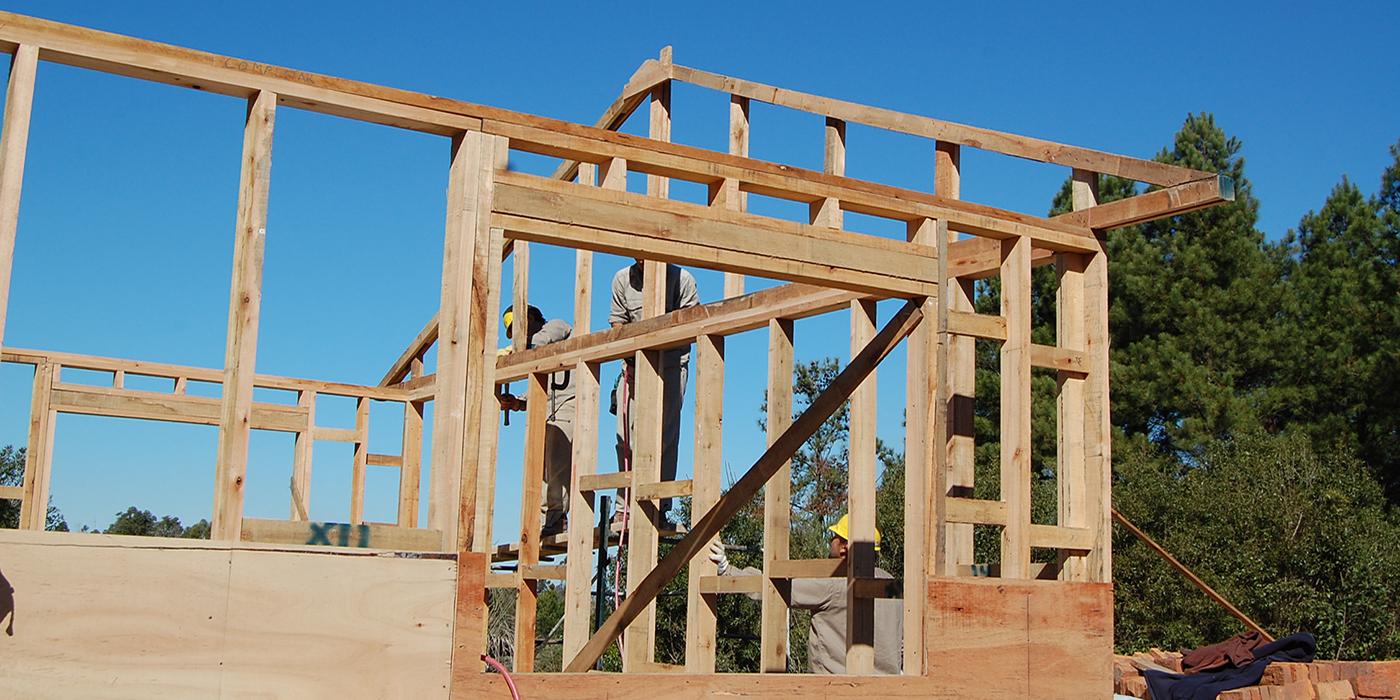 cabriadas carcasa casa madera