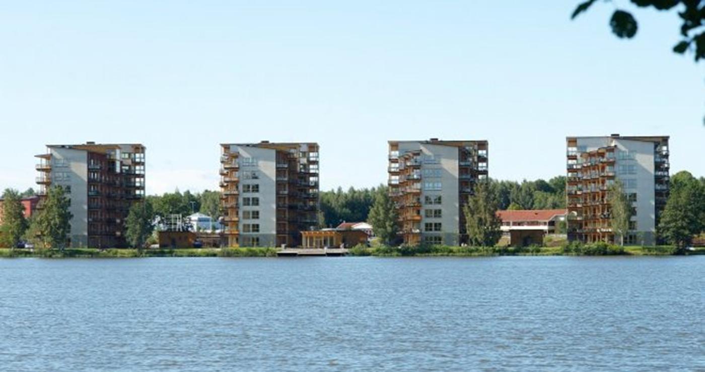 construcciones en madera suecia